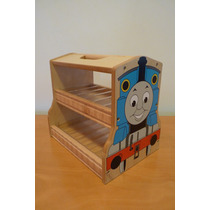 Tren Thomas Original!!. Caja Transporte De Trenes. Impecable