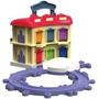 Chuggington Terminal Guarda Trenes Portable Set - Original