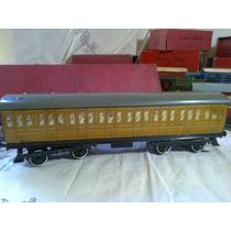 Tren Meccano Hornby, Vagón Passenger, Nuevo, O Km, 1948-52