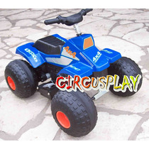 Quad Triciclo Cuatriciclo Arenero Moto Auto A Bateria Niños