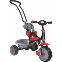 Triciclo Con Manija Direccional Kiddy Frenos 3 Posiciones