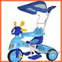 Triciclo+moto+ Manija+capota+musical Envio Gratis Cap/fed