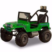 Auto Jeep Karting Wrangler Grande A Bateria 12v Con Luz Niño