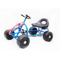 Cordoba!!! Karting Ruedas Plasticas-ultima Unidad-color Azul