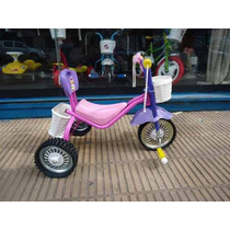 Triciclo De Caño Ruedas De Chapa Y Goma