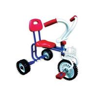Triciclo Infantil A Pedal C/respaldo Y Canasto Rdas Macizas