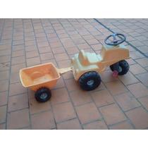 Triciclo Tractor Con Remolque