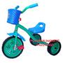 Triciclo Chico De Metal,reforzado Y Ruedas Goma,zona Oeste!