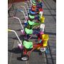 Triciclo Infantil A Pedal Caño Reforzado Ruedas Metal Y Goma