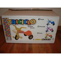 Triciclo Modelo Pirata Modelex Para Niños Nuevo En Caja