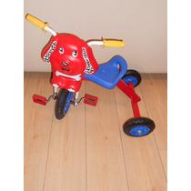 Triciclo Infantil A Pedal Modelo Perro Rdas Macizas Niño/a