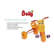 Belly Triciclo Eco Ruedas Plastico Navidad Reyes