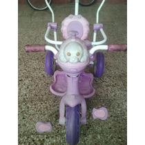 Triciclo Pata Direccional Para Nena Usado
