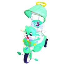 Triciclo Infantil Carrozado