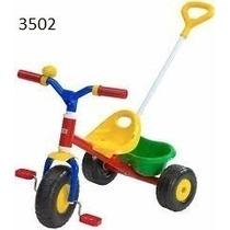 Triciclo Little Trike Con Manija Paseo Rondi Bebes 3502