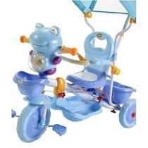 Triciclo Infantil Rana 6123 Rainbow Con Manija Y Capota