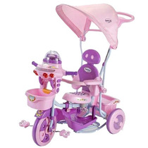 Triciclo Rainbow Lucero C/ Capota El Mejor Nena Casa Valente