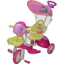 Triciclo Infantil Bipo Tortuga Rosa Un Regalo Especial