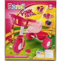 Triciclo Pink Metal