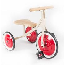 Triciclo De Madera Y Chapa Estilo Antiguo Tinplay
