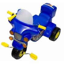 Triciclo Infantil Luces Y Sonido Moto Policía O Espacial Pvc