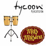 Tycoon Tcj-b N/d Congas Junior 8 +9 C/sop Doble Natural
