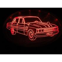 Insignia Luminosa De Ford Falcon Sprint - Iluminada Con Led