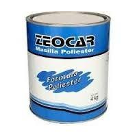 Masilla Plastica Zeocar X 4kgs Oferta En Flores!!!