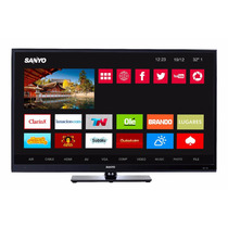 Led Smart Tv Sanyo 42 Pulg. Full Hd Wifi+3 Hdmi+2 Usb+vga