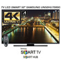 Smart Tv Led Samsung 50 4k Un50hu7000 Quad Core Hu7000 Wifi