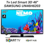 Tv Led 3d Smart Samsung 46 Un46h6203 Hdmi Tda Usb Hd 46h6203