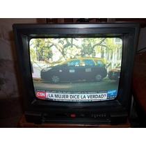 Tv 14¨ Hitachi Trinorna S/control Remoto Mod Cpt 1420 R