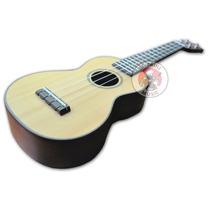 Ukelele Macizo Soprano Ohana Sk75 Caoba Aquila Strings Envio
