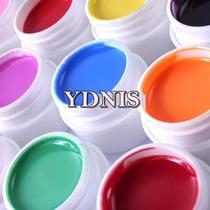 6 Geles Uv Color Esmaltado Semipermanente Ydnis Maquillaje