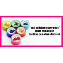 Quita Esmalte X 12 Pads Toallitas Perfumadas Frutales P042
