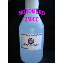 Monomero Con Filtro Uv 250cc Esculpidas Acrilicas Polimero