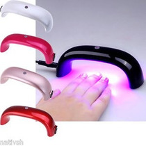 Mini Cabina Para Uñas Esculpidas Gelificadas Luz Led Uv Spa