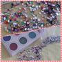 Kit Decoración D Uñas Nail Art Caviar Strass Glitter Rosario