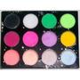 Set 12 Polimeros De Colores O Con Glitter 4,5 Gr C/u