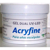 Gel Uv Apto Led Construccion Uñas Gelificadas X 30 Gr Flores