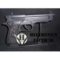 Pistola Encendedor Repli Beretta 9mm Negro Con Atril