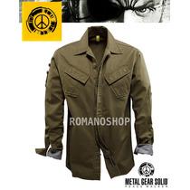 Chaqueta Metal Gear Solid Nueva Original Konami Militar Xl