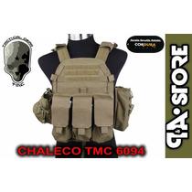 Chaleco Táctico Tmc 6094 Porta Palca Airsoft