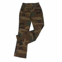 Pantalones Camuflados Militar De Mujer