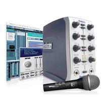 Placa De Sonido Externa Lexicon Omega + Microfono Akg D88s