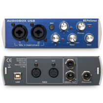 Interface De Audio Externa Presonus Audiobox Usb 2x2 - Envio