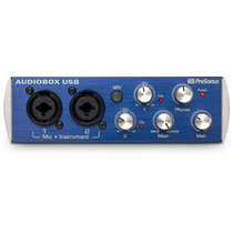 Presonus Audiobox Usb Placa De Sonido 2x2 Con Midi