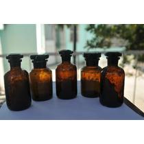 Frasco De Farmacia Antiguo En Perfecto Estado !!!!!!
