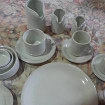 Pocillo Cafe Con Plato Porcelana No Verbano X 3