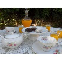 Vajilla Vintage Para Tea Party, Eventos, Reuniones